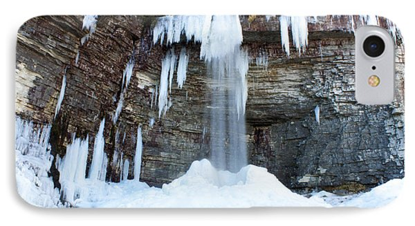 IPhone Case featuring the photograph Stony Kill Falls In February #1 by Jeff Severson