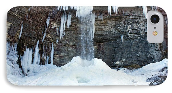 IPhone Case featuring the photograph Stony Kill Falls In February #2 by Jeff Severson