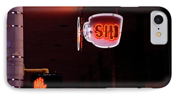 Stop And Sip IPhone Case