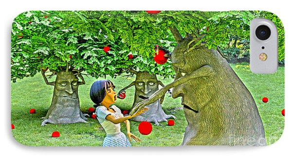 Stop Picking My Apples IPhone Case