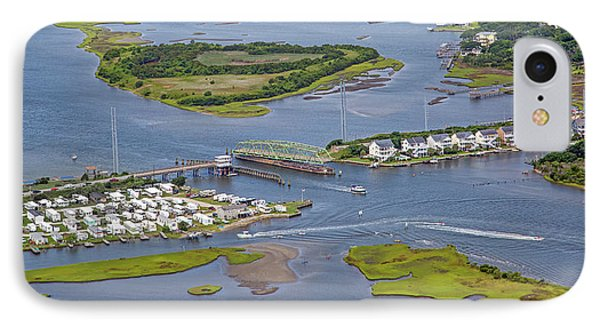 Stopping Traffic Topsail Island IPhone Case by Betsy Knapp