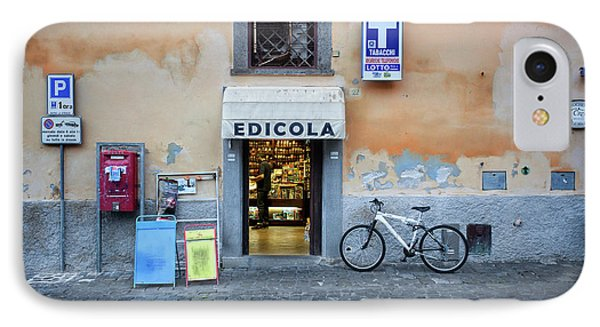 Storefront In Rome IPhone Case