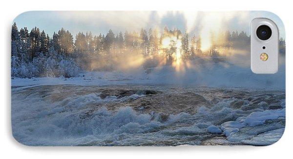 Storforsen, Biggest Waterfall In Sweden IPhone Case by Tamara Sushko