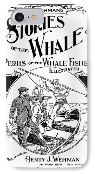 Stories Of The Whale Phone Case by Granger
