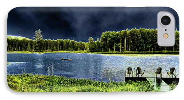 IPhone Case featuring the photograph Storm Approaching The Pond by David Patterson