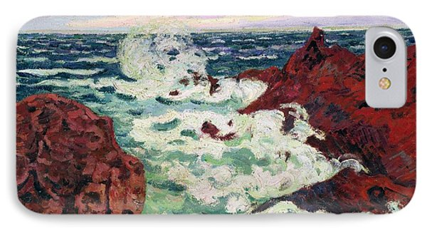 Storm At Agay Phone Case by Jean Baptiste Armand Guillaumin