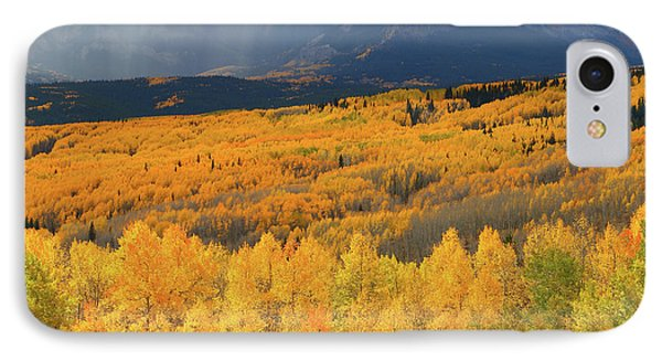 Storm At Ohio Pass During Autumn IPhone Case by Jetson Nguyen