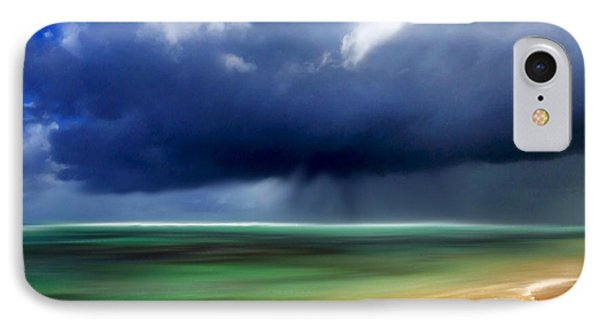 Storm At Punta Cana Dominican Republic IPhone Case by Dennis Kirby