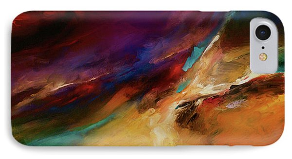 Storm At Sea Phone Case by Michael Lang
