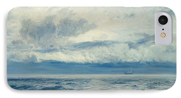Storm Brewing IPhone Case by Henry Moore
