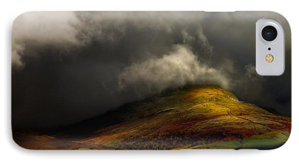 Storm Brewing Over Hawkshead IPhone Case