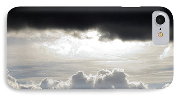 Storm Clouds 3 Phone Case by Andee Design