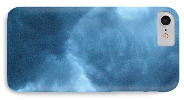 IPhone Case featuring the photograph Storm Clouds by Angie Rea