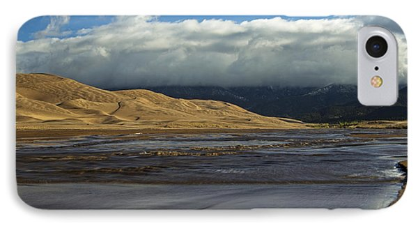 Storm Clouds Great Sand Dunes National Park IPhone Case