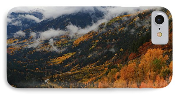 IPhone Case featuring the photograph Storm Clouds Over Mcclure Pass During Autumn by Jetson Nguyen