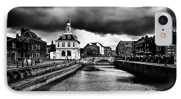 Storm Clouds Over Purfleet Quay IPhone Case
