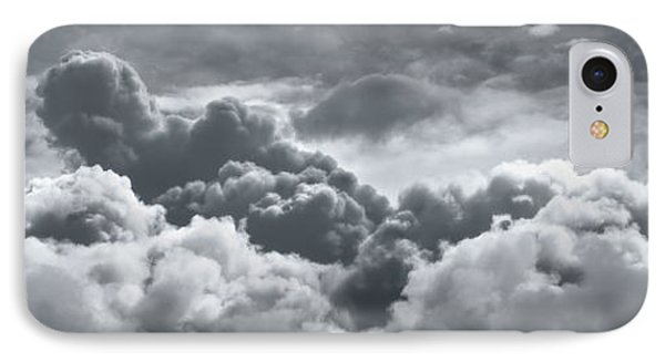 Storm Clouds Over Sheboygan IPhone Case by Scott Norris