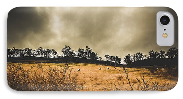 Storm Clouds Over York Plains IPhone Case
