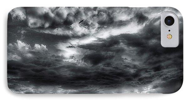 Storm Clouds Ventura Ca Pier IPhone Case by John A Rodriguez