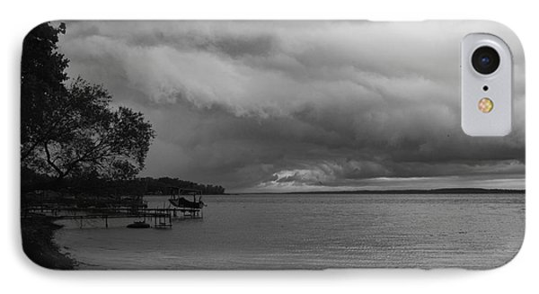 IPhone Case featuring the photograph Storm Clouds by William Norton