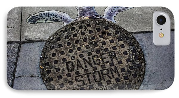 Storm Drain IPhone Case by Martin Newman