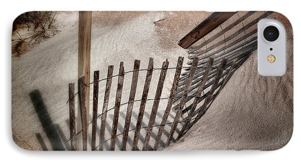Storm Fence Series No. 2 IPhone Case