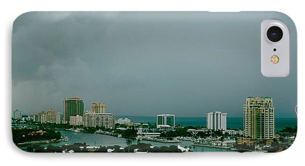 Storm Ft Lauderdale Fl IPhone Case by Panoramic Images