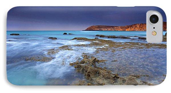Kangaroo iPhone 7 Case - Storm Light by Mike  Dawson