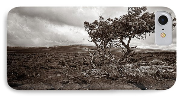 Storm Moving In - Sepia Phone Case by Christopher Holmes