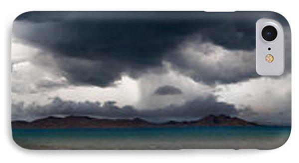 Storm On Karakul Lake. Panorama Phone Case by Konstantin Dikovsky