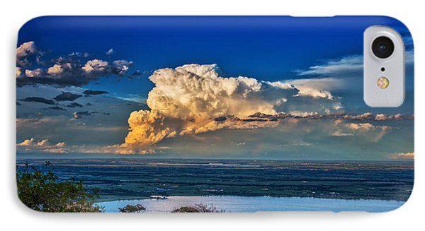IPhone Case featuring the photograph Storm On The Horizon by James Menzies