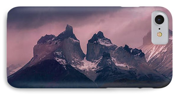 IPhone Case featuring the photograph Storm On The Peaks by Andrew Matwijec