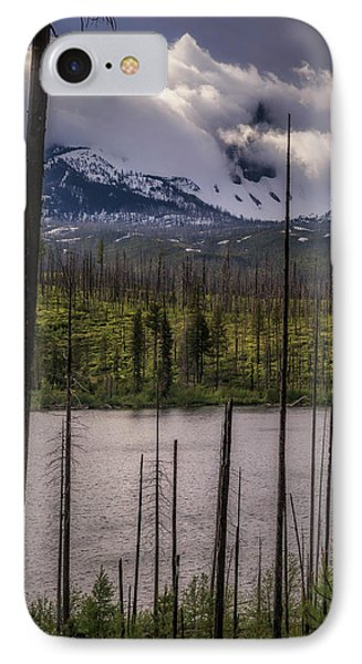 IPhone Case featuring the photograph Storm On Three Fingered Jack by Cat Connor