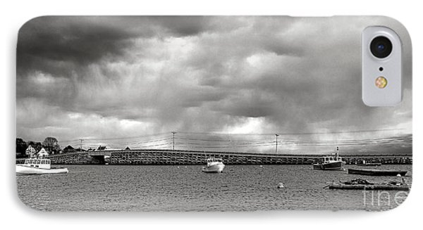 Storm Over Bailey Island IPhone Case by Olivier Le Queinec