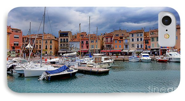 Storm Over Cassis IPhone Case by Olivier Le Queinec