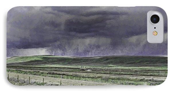Storm Over Monida Pass  IPhone Case