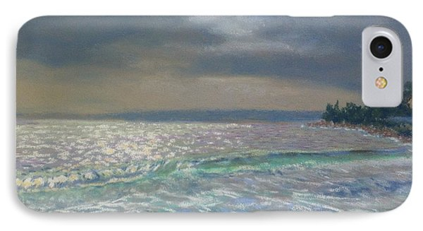 Storm Over Queensland Beach ,nova Scotia IPhone Case