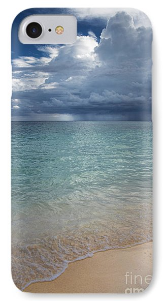IPhone Case featuring the photograph Storm Over The Caribbean Sea by Yuri Santin