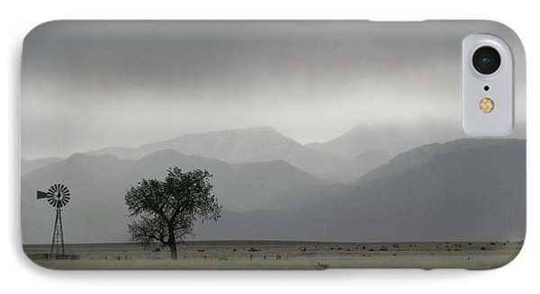Storm Over The Rockies IPhone Case
