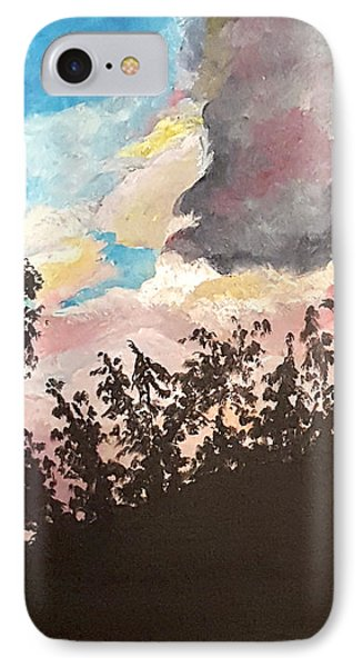 Storm Passing Through IPhone Case