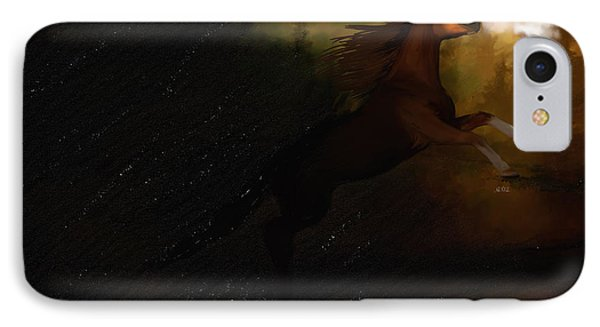 Storm Spooked Phone Case by Angela A Stanton