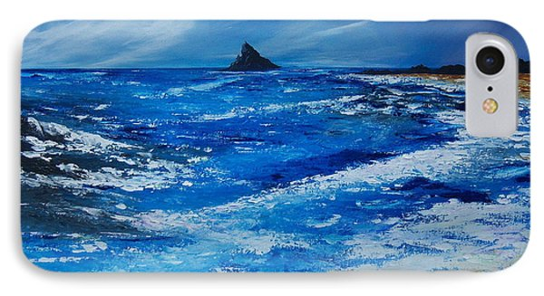 Storm To The East Of The Skellig IPhone Case