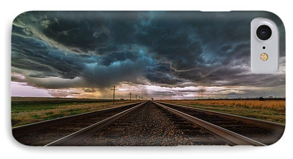 Storm Tracks IPhone Case