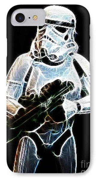 Storm Trooper Phone Case by Paul Ward