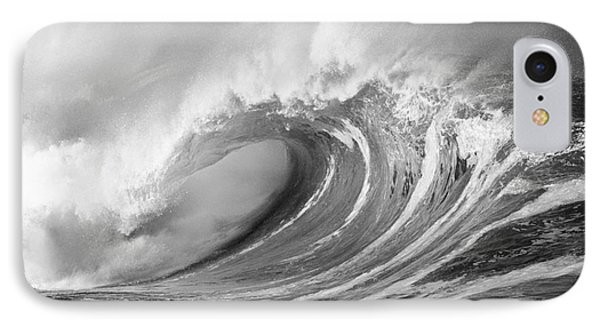 Storm Wave - Bw IPhone Case by Ron Dahlquist - Printscapes