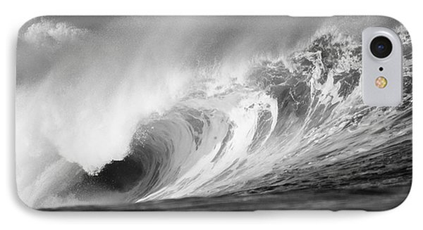 Storm Wave - Bw IPhone Case by Vince Cavataio - Printscapes