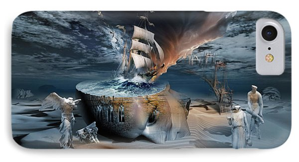 Stormbringer IPhone Case by George Grie