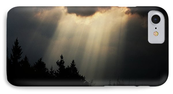 Storms And Sun Rays IPhone Case