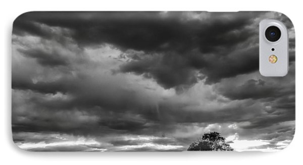 Storms Clouds Passing IPhone Case by Monte Stevens