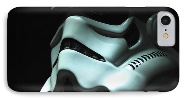 Stormtrooper Helmet Phone Case by Micah May